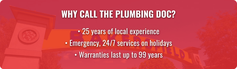 employee experience California plumbers sewer repair